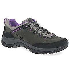 Merrell - Grey 'Salida Trekker' womens hiking shoes