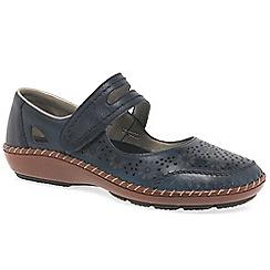 Rieker - Navy 'Crush' Womens Casual Shoes