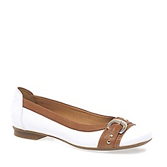 Gabor - White 'Indiana' Womens Casual Pumps