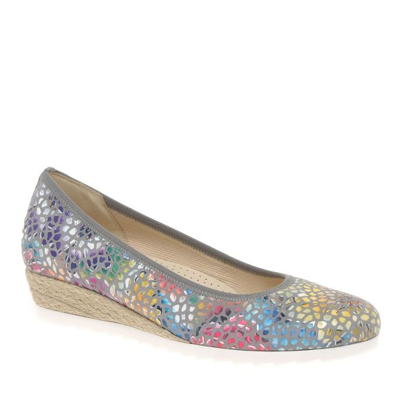 womens Multi Gabor 'epworth' ballerina modern coloured shoes fwvvqt
