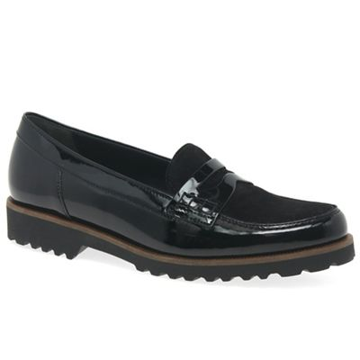 Gabor - Black 'Skipper' womens casual shoes