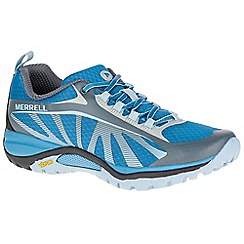 Merrell - Turquoise 'Siren Edge' womens sports shoes