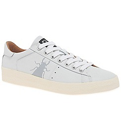 Fly London - White leather 'Berg' casual trainers