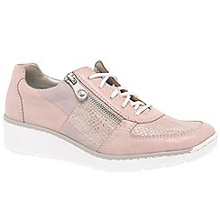 Rieker - Rose 'Camilla' wedge heeled casual sports shoes