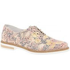 Rieker - Multi Coloured 'Stem' flat lace up shoes
