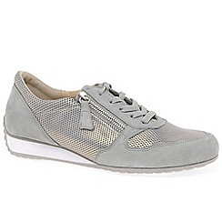 Gabor - Light grey suede 'Maybelle' trainers