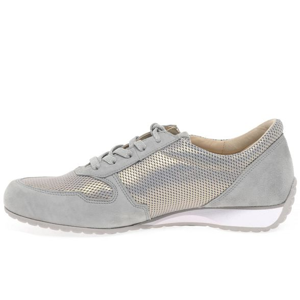 trainers suede Light Gabor grey 'Maybelle' cp8wWHq64