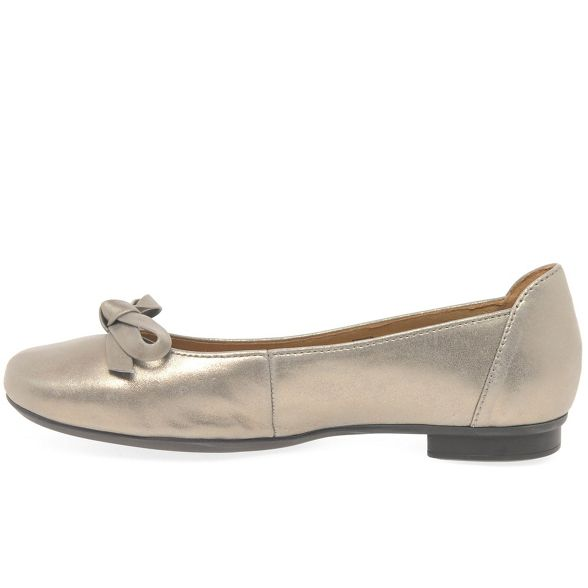 pumps flat Gabor Gold 'Craiglea' ballet leather wX66tqr