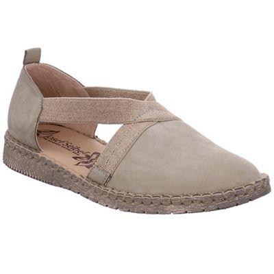 Josef Seibel - Light green leather 'sofie 29' flat closed toe sandals