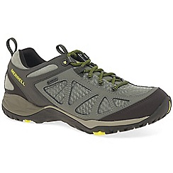 Merrell - Olive 'Siren Sport Q2 GTX' waterproof hiking trainers