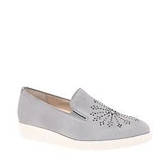 Gabor - Grey Suede 'Echo' Womens Casual Shoes