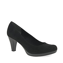 Marco Tozzi - Black 'Bethel' high heel court shoes
