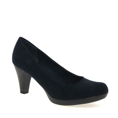 Marco Tozzi - Navy 'bethel' womens court shoes