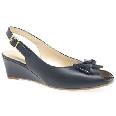 Van Dal - Navy 'Roseville' Womens Casual Shoes