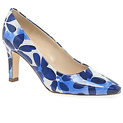 Peter Kaiser - Dark blue 'Tosca' womens court shoes