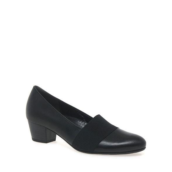 'Sovereign' court womens Gabor Black shoes 6q5wg0Fv