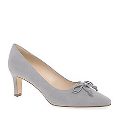 Peter Kaiser - Grey suede 'Mizzy' mid heeled court shoes