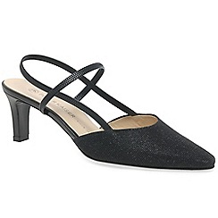 Peter Kaiser - Black 'Mitty' womens slingback