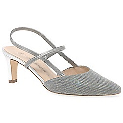Peter Kaiser - Silver 'Mitty' womens slingback shoes