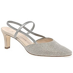 Peter Kaiser - Metallic 'Mitty' womens slingback shoes