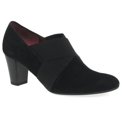 Gabor   Black 'function' Womens High Cut Court Shoes by Gabor