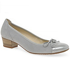 Gabor - Light grey 'islay' womens casual shoes