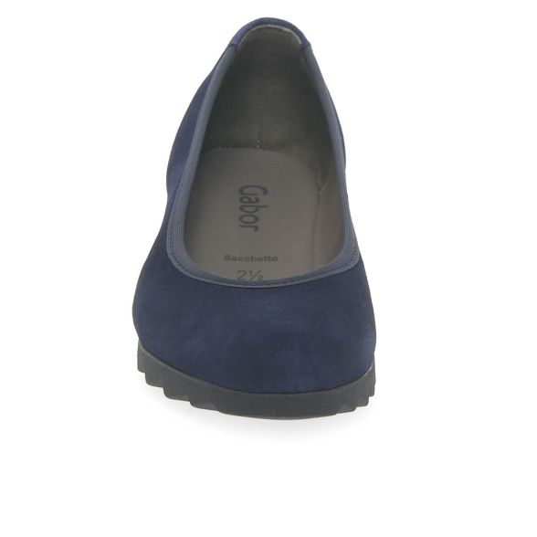 blue Gabor Dark suede shoes 'Request' wedge Rn5xnBwP