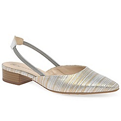 Peter Kaiser - Gold 'Astra' womens slingback sandals