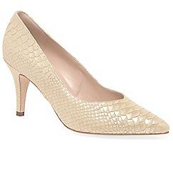 Peter Kaiser - Beige 'Elektra' womens dress court shoes