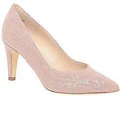 Peter Kaiser   Light Pink U0027Elektrau0027 Womens Dress Court Shoes