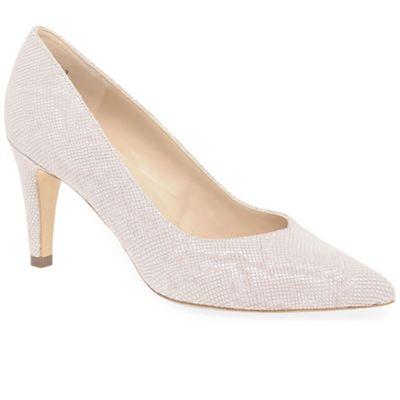 Peter Kaiser - Dark cream 'Elektra' womens dress court shoes