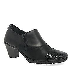 Rieker - Black 'Tease' court shoes