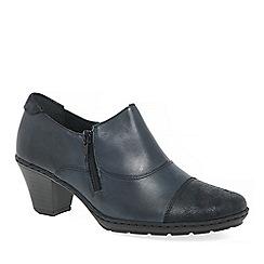 Rieker - Dark blue 'Tease' court shoes