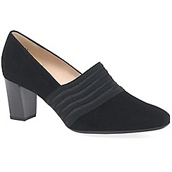 Peter Kaiser - Black suede 'dorna ii' womens court shoes
