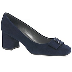Peter Kaiser - Navy suede 'cella' womens court shoes