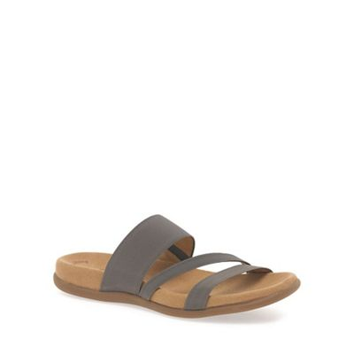 Gabor - Grey 'Tomcat' modern sporty sandals