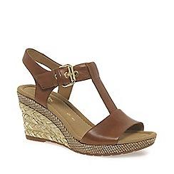 Gabor - Brown 'Karen' womens modern sandals