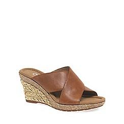 Gabor - Tan 'Purpose' Womens Modern Sandals