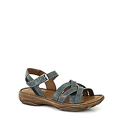 Josef Seibel - Blue 'Debra 23' Womens Leather Sandals