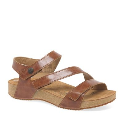 Josef Seibel Camel Tonga 25 Womens Leather Sandals