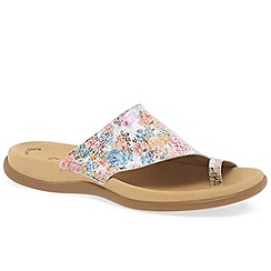Gabor - Multi coloured 'lanzarote' womens printed mules