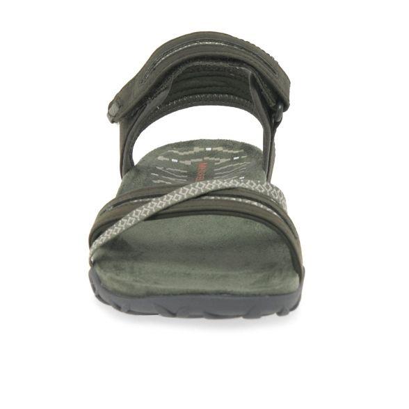 'Terran II' sandals Cross nubuck Merrell casual Olive EqFwBwa
