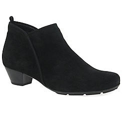 Gabor - Black 'trudy' womens ankle boots