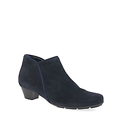 Gabor - Navy 'Trudy' womens ankle boots