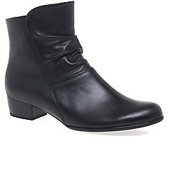 Gabor - Black 'Jensen' Womens Ankle Boots