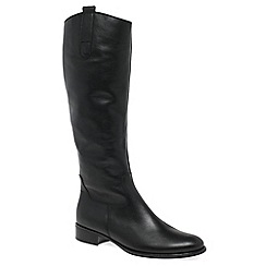 Gabor - Black 'Brook M' Womens Long Boots