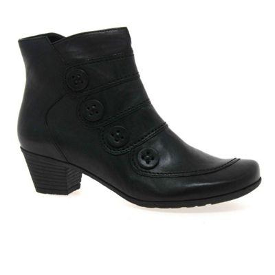 Gabor - Black 'Georgie' Womens Ankle Boots