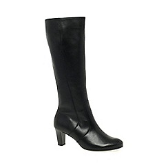 Gabor - Black 'Maybe S' Womens Slim Fitting Long Boots
