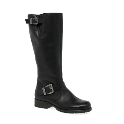 Rieker Black Feline Womens Long Boots Debenhams