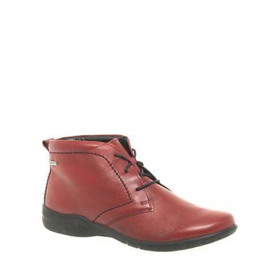 Josef Seibel - Red 'Fabienne' Womens Ankle Boots